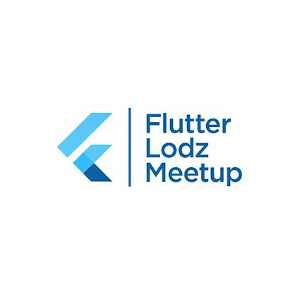 Logo of Flutter Łódź Meetup
