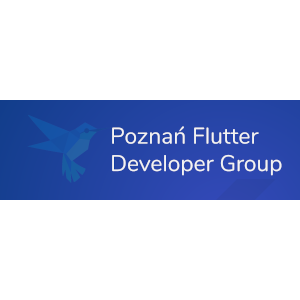 Logo of Poznań Flutter Developers Group